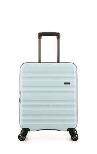 Clifton Modern Neutrals 55x40x20cm Cabin Suitcase (4579111220) Mint