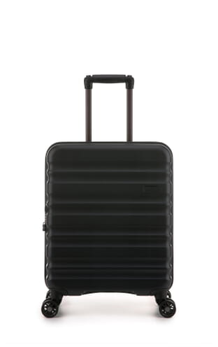 Clifton Monos 55x40x20cm Cabin Suitcase (4579124220) Black