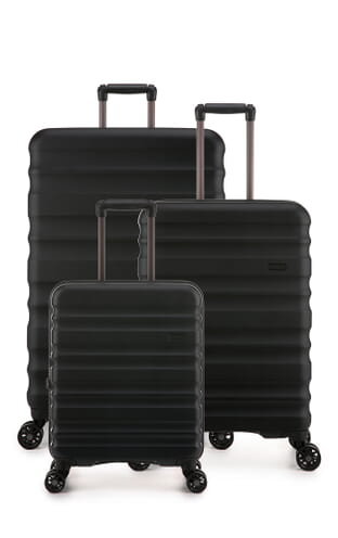 Clifton Monos Set of 3 Suitcases (4579124248) Black