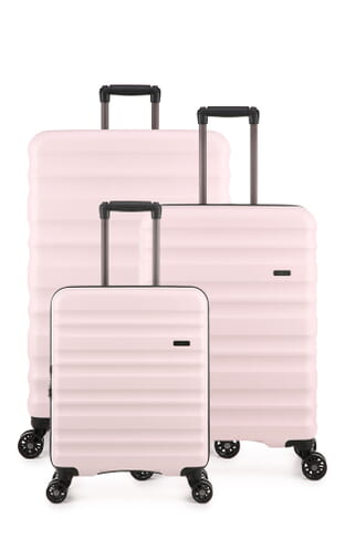 Clifton Modern Neutrals Set of 3 Suitcases (4579101248) Blush