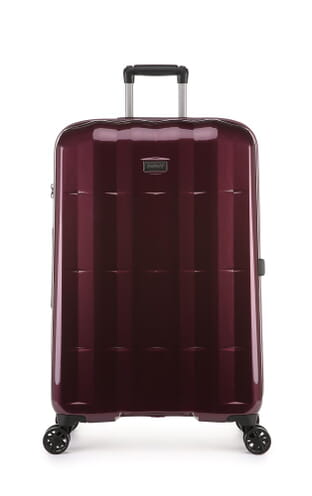 Global DLX Large Suitcase Burgundy