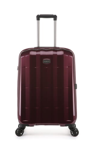 Global DLX Medium Suitcase Burgundy