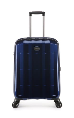 Global DLX Medium Suitcase Navy