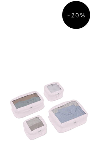 Chelsea 4 Packing Cubes (4589101295) Blush